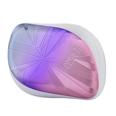 Tangle Teezer Compact Styler Smashed Holo Blue Xmas Collection