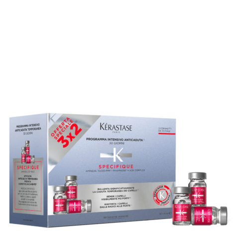 Kerastase Specifique Cure anti chute intensive 30x6ml - 30 Ampolla Tratamiento Intensivo Anticaída