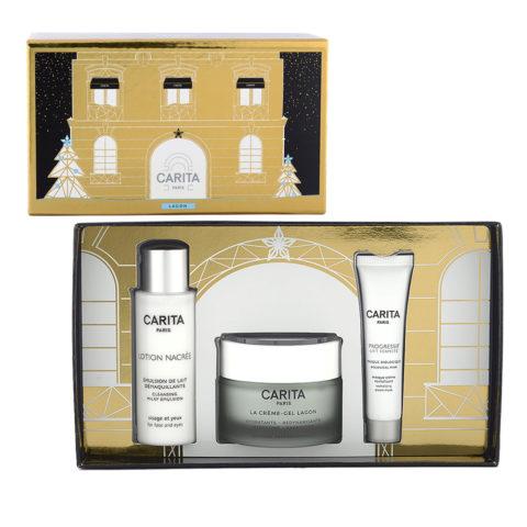 Carita Skincare Lagon Kit La Crème Lagon 50ml + Lotion Nacrée 50ml + Masque Biologique 15ml