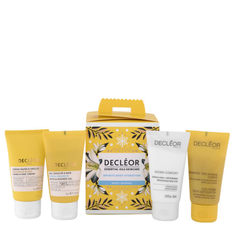 Decléor Essential Oils Skincare Infinite Body Hydration Neroli Bigarade - Kit 4 Productos Cuerpo