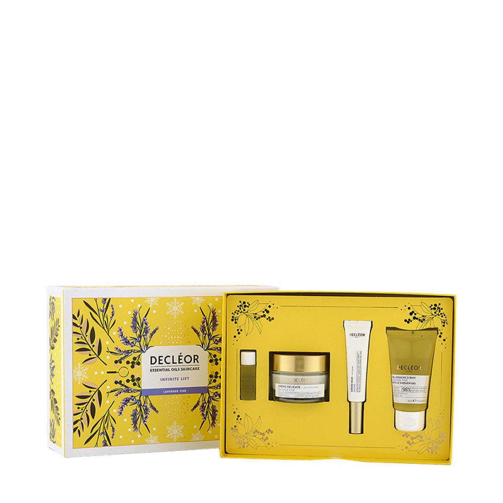 Decléor Essential Oils Skincare Infinite Lift Lavender Fine - Kit 4 Productos