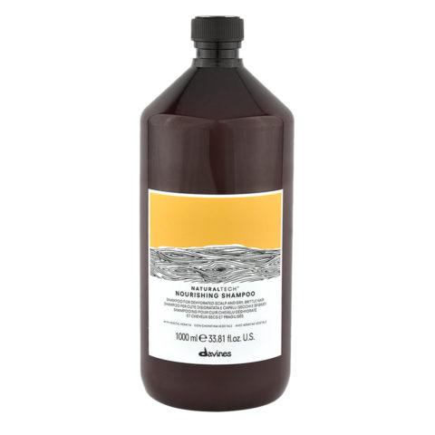 Davines Naturaltech Nourishing Shampoo 1000ml - Champú nutritivo
