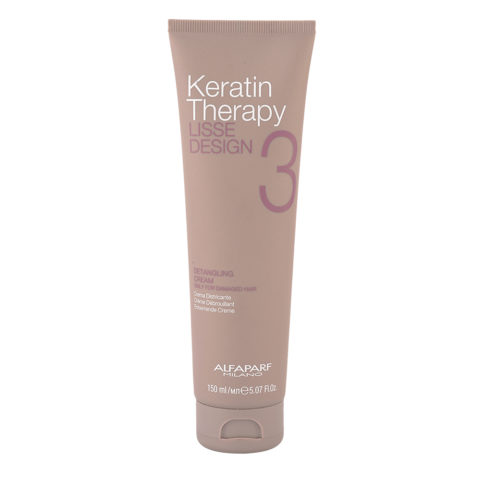 Alfaparf Lisse Design Keratin Therapy 3 Detangling Cream 150ml - Crema Desenredante