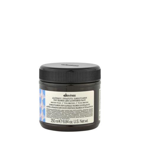 Davines Alchemic Creative Conditioner Marine Blue 250ml - Bàlsamo De Color Azul Marino