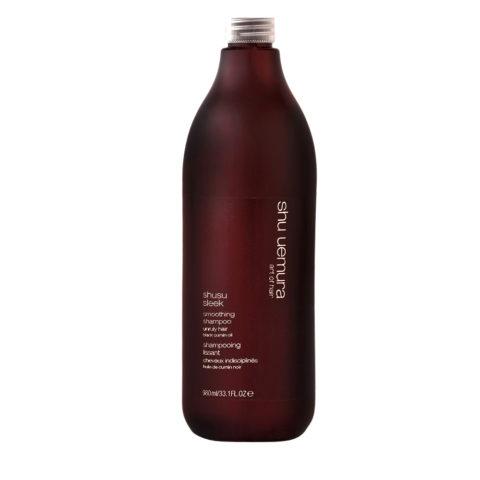 Shu Uemura Shusu Sleek Shampoo 980ml - Champú estrenante
