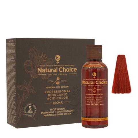 7.66 Rubio claro rojo intenso Tecna NCC Biorganic acid color 3x130ml