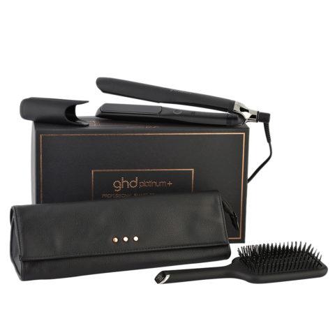 GHD Platinum + Professional Smart Styler Gift Set - Plancha Con Pochette Y Cepillo Plano