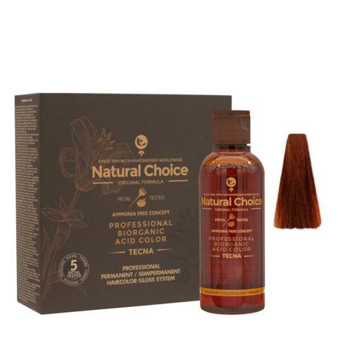 7.4 Rubio medio cobre Tecna NCC Biorganic acid color 3x130ml