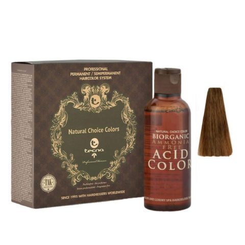 6.53 Rubio oscuro wood fuerte Tecna NCC Biorganic acid color 3x130ml