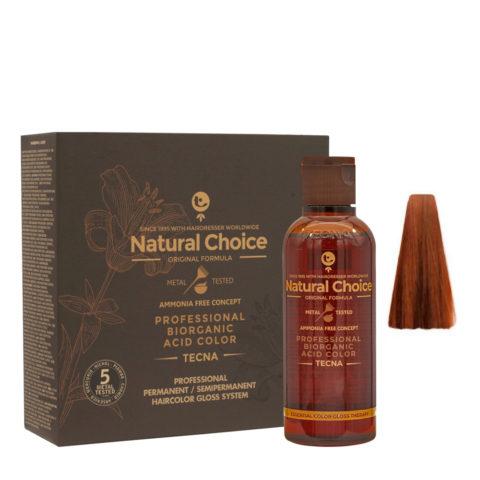 8.43 Rubio claro cobre dorado Tecna NCC Biorganic acid color 3x130ml