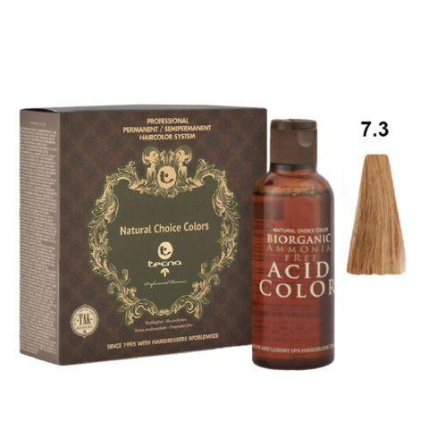 7.3 Rubio medio dorado Tecna NCC Biorganic acid color 3x130ml