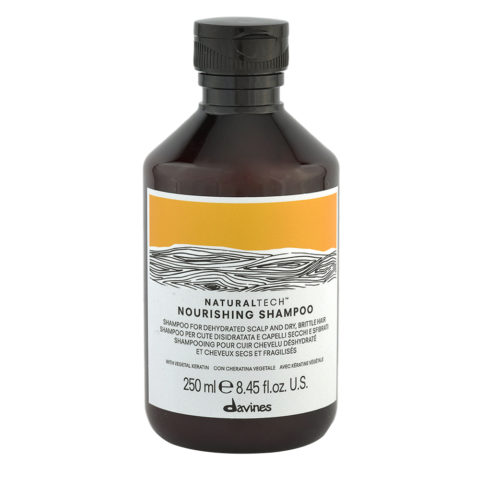 Davines Naturaltech Nourishing Shampoo 250ml - Champú nutritivo