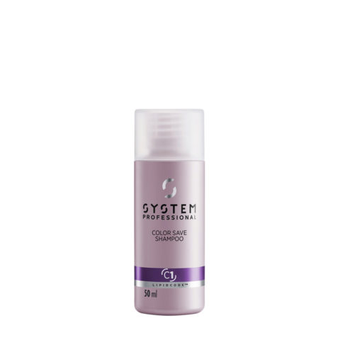 System Professional Color Save Shampoo C1, 50ml - Champù cabellos teñidos