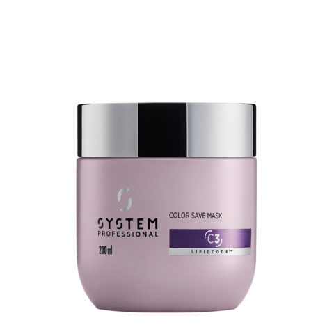 System Professional Color Save Mask C3, 200ml - Mascarilla cabellos teñidos