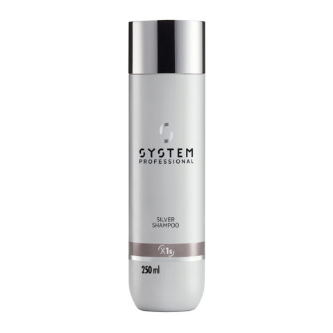 System Professional Silver Shampoo X1s, 250ml - Champù Antiamarillo
