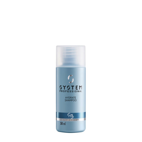 System Professional Hydrate Shampoo H1, 50ml - Champù Hidratante