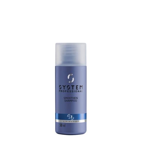System Professional Smoothen Shampoo S1, 50ml - Champù Anti Frizz