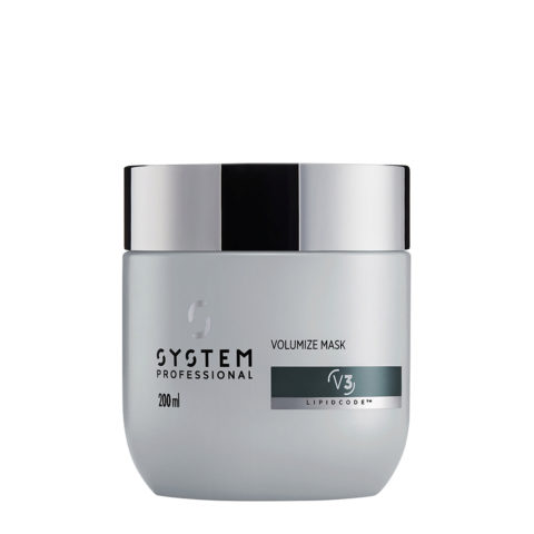 System Professional Volumize Mask V3, 200ml - Mascarilla Volume cabello Fino