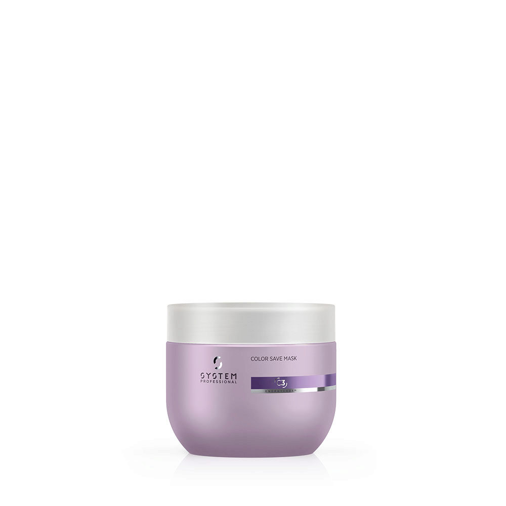 System Professional Color Save Mask C3, 400ml - Mascarilla cabellos teñidos