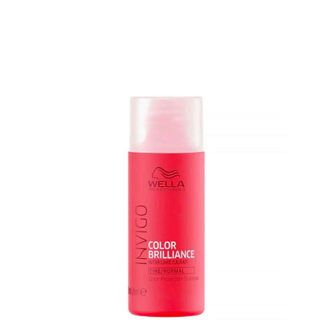Wella Invigo Color Brilliance Shampoo fine/normal hair 50ml