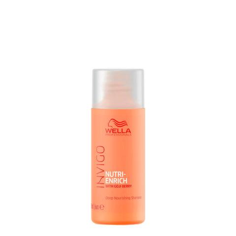 Wella Invigo Nutri-Enrich Deep Nourishing Shampoo 50ml - champù nutritivo