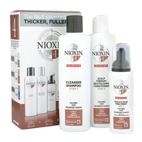 Nioxin System4 Kit XXL Completo Anticaìda