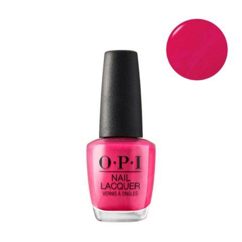 OPI Nail Lacquer NL E44 Pink Flamenco 15ml - Esmalto de Empleo