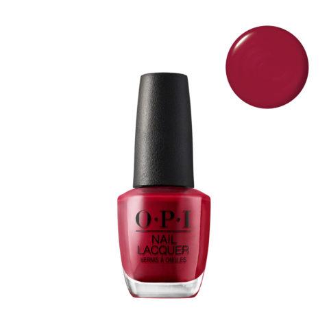 OPI Nail Lacquer NL L72 Red 15ml Esmalto de Uñas