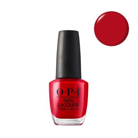 OPI Nail Lacquer NL N25 Big Apple Red 15ml - Esmalto De Uñas