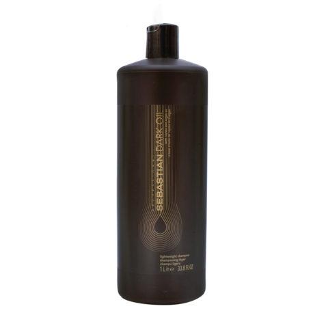 Sebastian Dark Oil Lightweight Shampoo 1000ml - Champù Hidratante Ligero