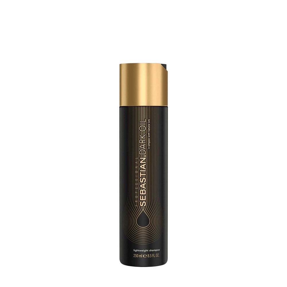 Sebastian Dark Oil Lightweight Shampoo 250ml - Champù Hidratante Ligero