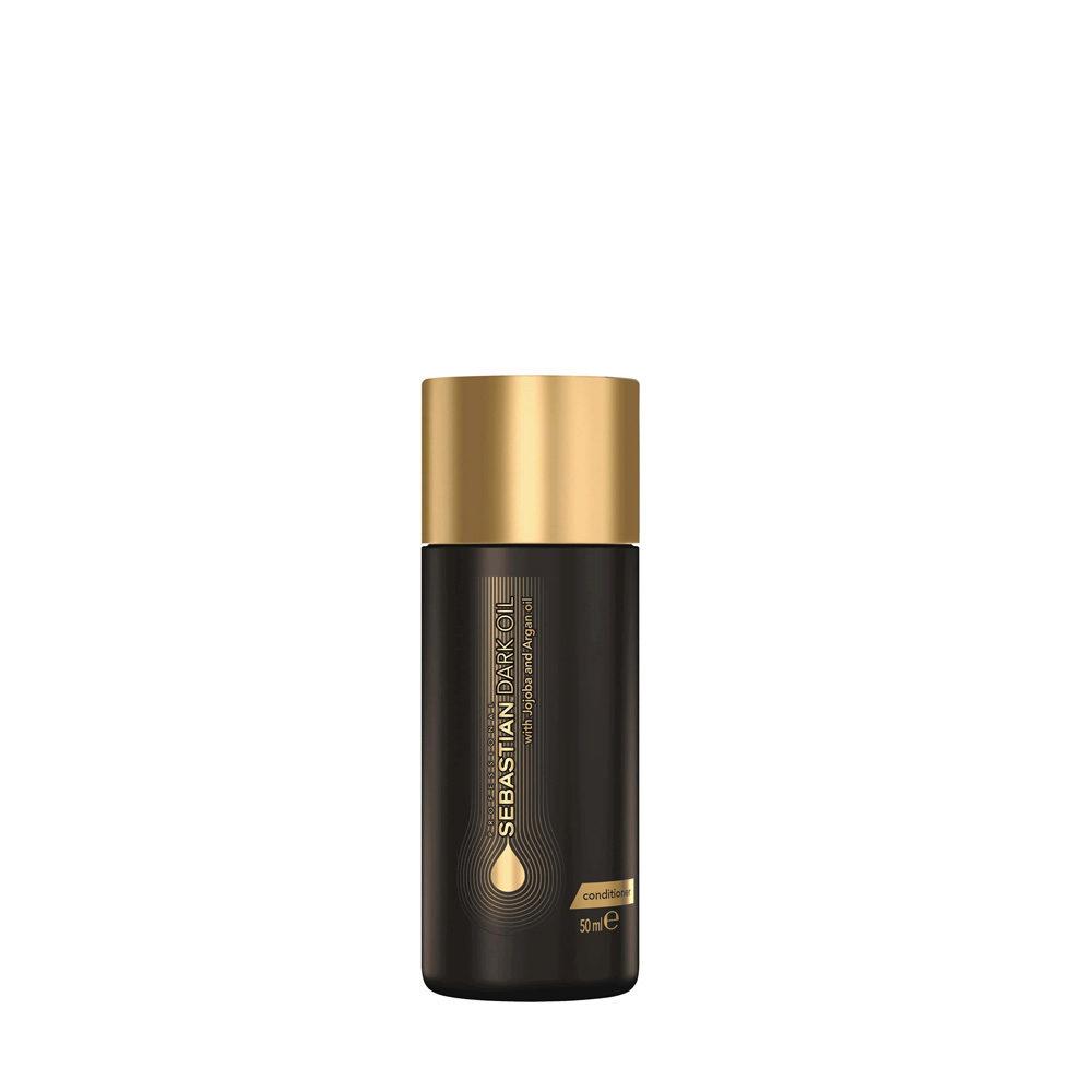 Sebastian Dark Oil Lightweight Conditioner 50ml - Acondicionador Hidratante Ligero