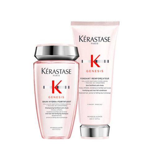 Kerastase Genesis Kit Shampoo 250ml + Conditioner 200ml Fortificante y Hidratante