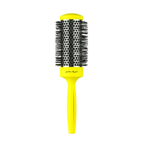 Gettin fluo Yellow Thermal Brush 43mm