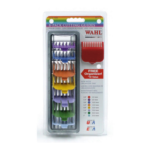 Wahl 8 Pack Cutting Colour Guides
