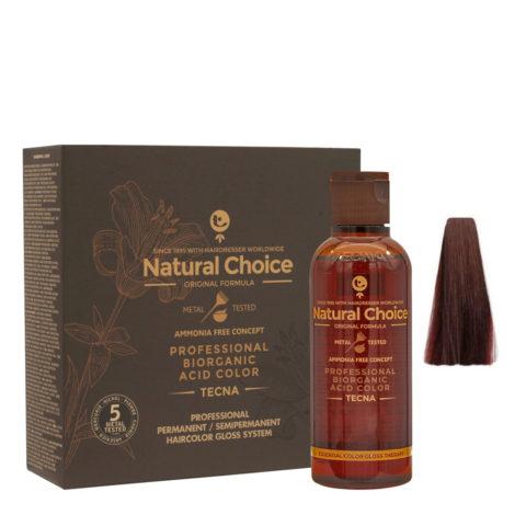 4.26 Castaño rojo berenjena Tecna NCC Biorganic acid color 3x130ml