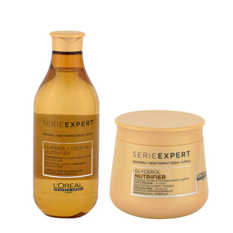 L'Oreal Nutrifier Shampoo 300ml Mask 250ml