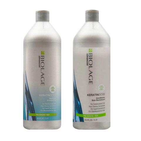 Biolage Advanced Keratindose Shampoo 1000ml e Conditioner 1000ml