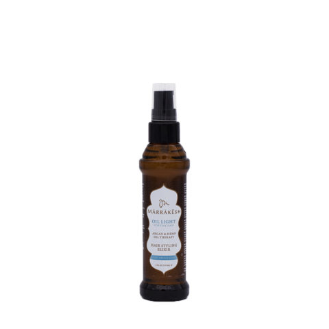 Marrakesh Fine Hair X Oil Light Hair Styling Elixir 60ml - Aceite Hidratante Ligero Para Cabello Fino