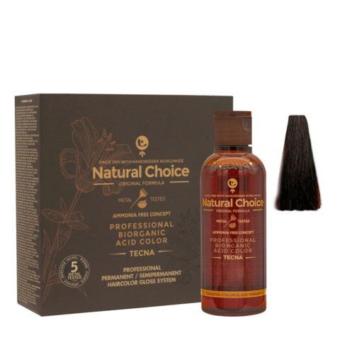 4.27 Castaño medio dark Tecna NCC Biorganic acid color 3x130ml