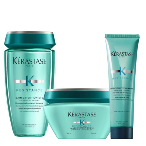 Kerastase Résistance Extentioniste Bain 250ml Mascara 200ml Gel creme 150ml