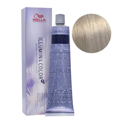10/81 Rubio Super Claro Perla Ceniza Wella Illumina Color 60ml