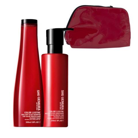 Shu Uemura Color Lustre Kit Shampoo 300ml Conditioner 250ml - Champú y Acondicionador