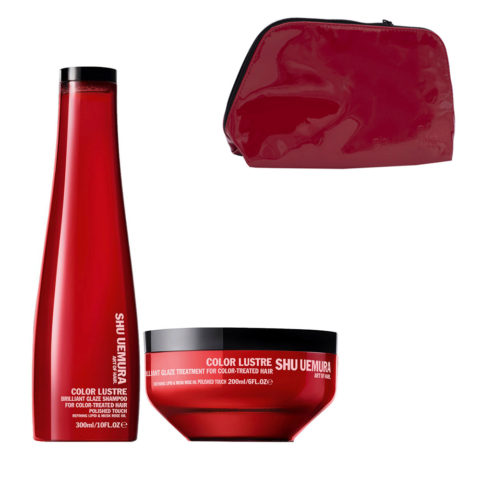 Shu Uemura Color lustre kit shampoo 300ml masque 200ml - Champú y Mascarilla