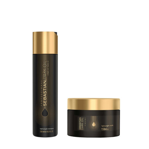 Sebastian Dark Oil Champù Hidratante Ligero 250ml Mascarilla 150ml