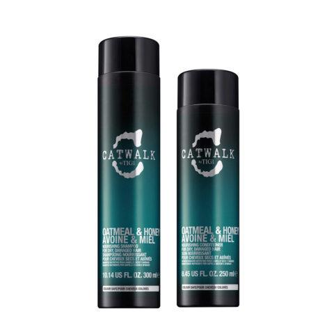 Tigi Catwalk Kit Shampoo 300ml Acondicionador 250ml Para Cabello Seco