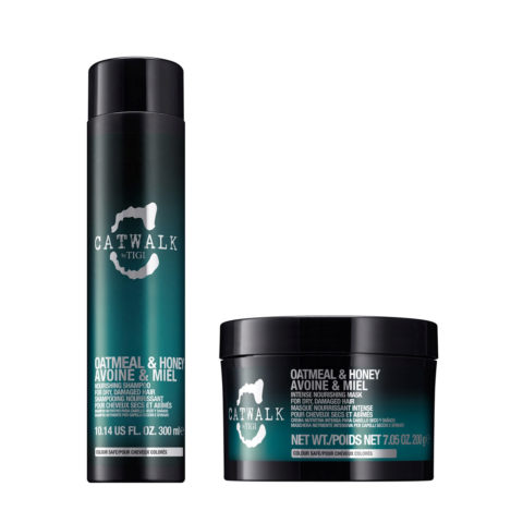 Tigi Catwalk Kit Shampoo 300ml Mascarilla 200gr Para Cabello Seco