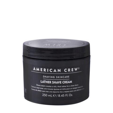 American crew Lather Shave Cream 250ml - crema de afeitar