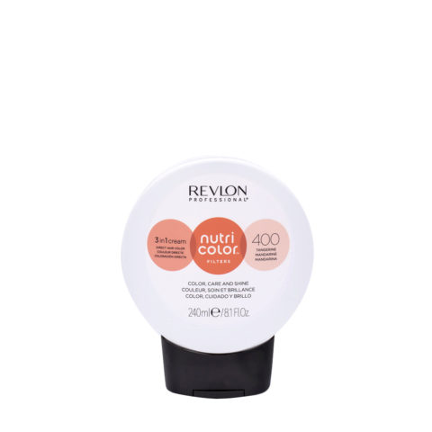 Revlon Nutri Color Creme 400 Mandarino 240ml- Mascara Color