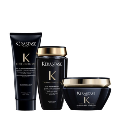 Kerastase Chronologiste Pre Shampoo 200ml Champu 250ml Mascarilla 200ml